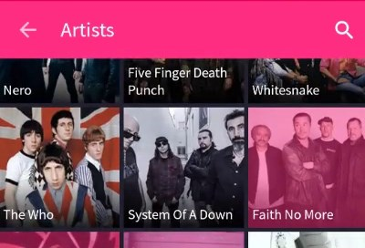 MixRadio on Android