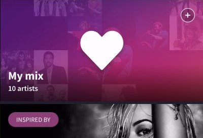 MixRadio on iOS